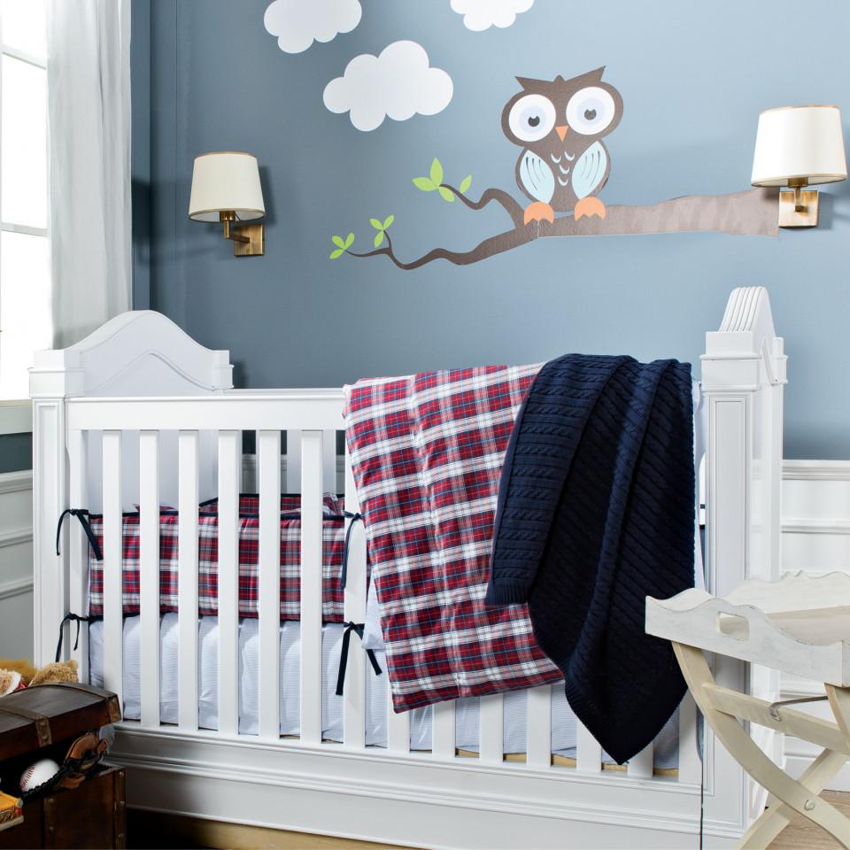 Детское постельное белье Casual Avenue Lucas ivory/marine слоновая кость/голубой