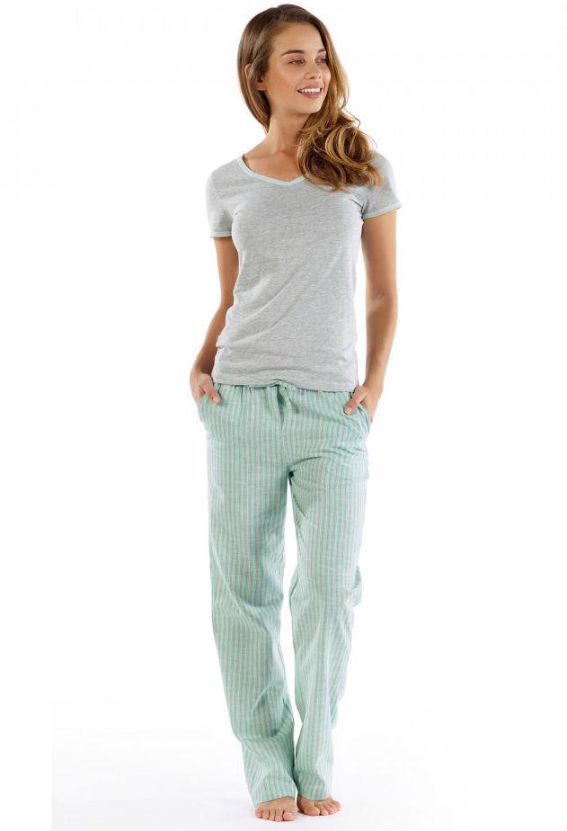 655d3082dee5 Домашний комплект женский с брюками Florence от Casual Avenue серо-зелёный