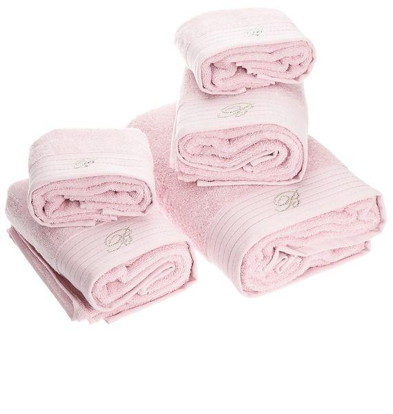 Набор полотенец 5шт Crociera rosato от Blumarine