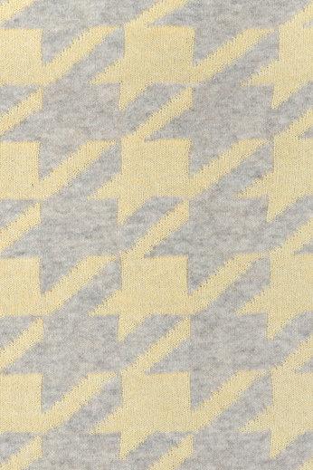 Плед 130х170 Luxberry Goose Foot желтый