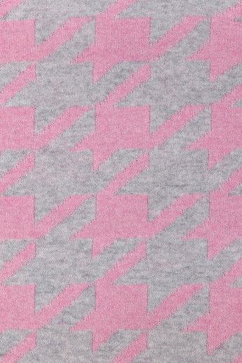 Плед 130х170 Luxberry Goose Foot розовый