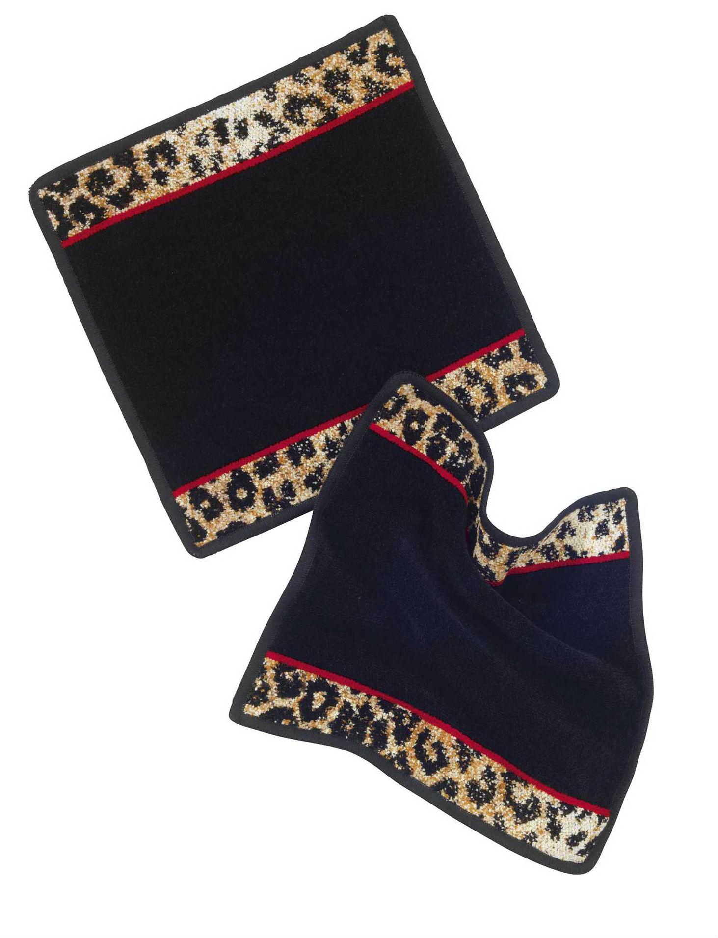 Шенилловое полотенце салфетка 25х25 Wangari 10 schwarz черный от Feiler
