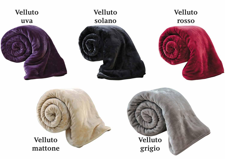 Плед-покрывало 220х240 Velluto Grigio серый от Versace 19.69