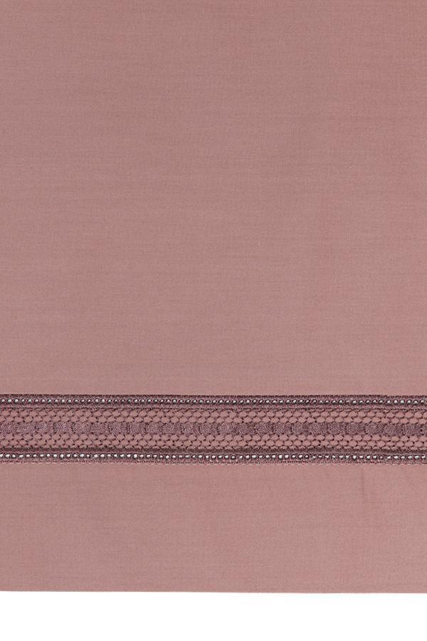 Постельное белье 1,5 спальное Bovi Акцент карминово-розовый