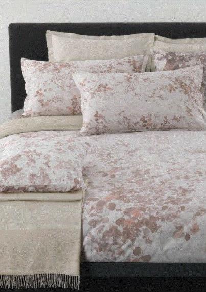 Постельное белье евро Floral от Trussardi