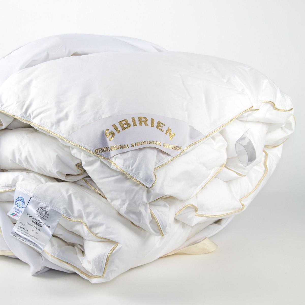 Одеяло пуховое всесезонное 200х220 Siberiano от Daunex