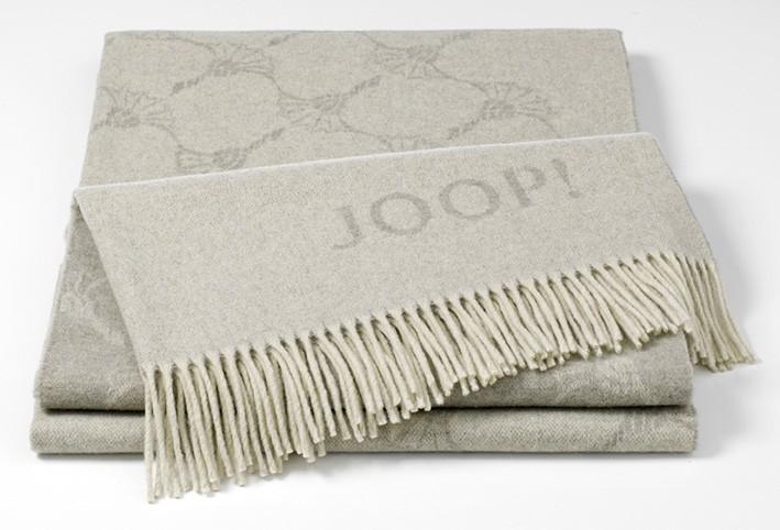 Плед 130х180 Biederlack JOOP! Faded Cornflower sand